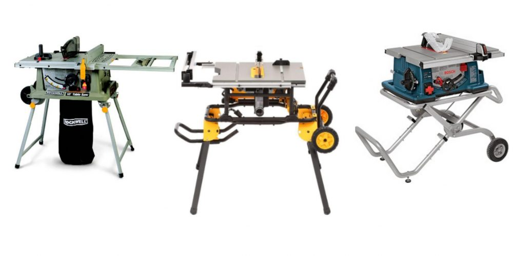 Best Portable Table Saw 2019